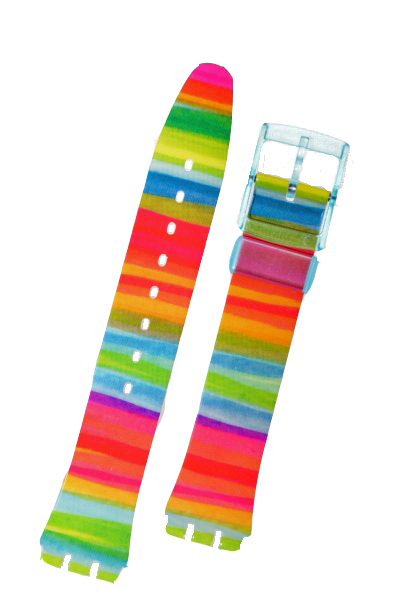 Swatch Strap 'Colour The Sky' AGS124