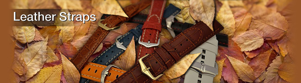 Leather Watch Straps Watches