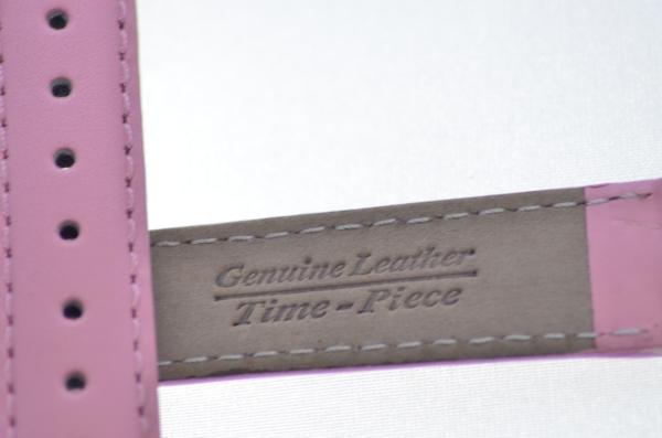 b5af39fa7 Plain Pink Leather Watch Strap 12mm Plainpink012
