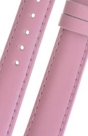 b66f12818 Plain Pink Leather Watch Strap 20mm Plainpink020