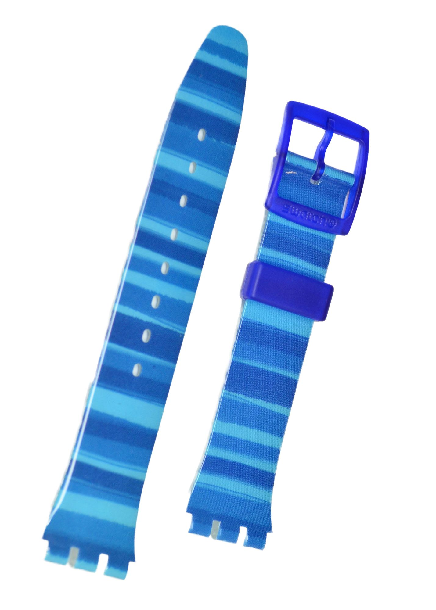 Swatch Strap Classic Blue 'Linajola' AGN237