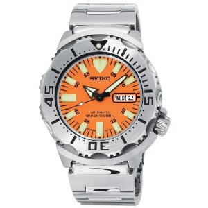 Gents Seiko Orange Monster Automatic Bracelet Watch
