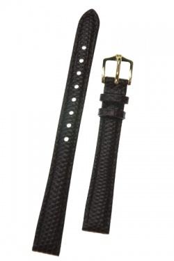 Hirsch 'Rainbow' Brown Leather Strap, 14mm - 12302610-1-14