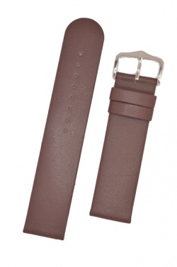 Hirsch 'Scandic' L Taupe leather watch strap, 20mm - 17872012-2-20