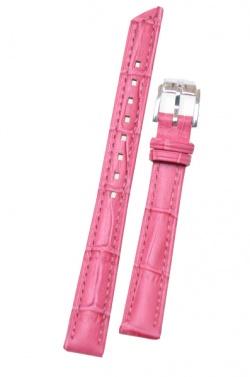Hirsch 'Princess' Pink Leather Strap, 14mm - 02628125-2-14