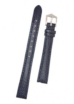 Hirsch 'Rainbow' M Blue Leather Strap, 12mm - 12302680-2-12
