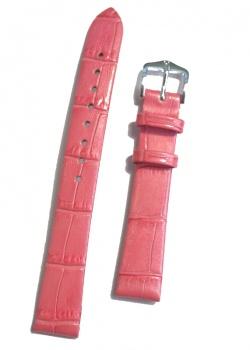 Hirsch 'Duchess'  14mm  Pink Patent Leather Strap  - 02728125-2-14