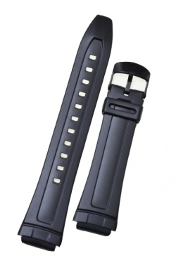 Casio Black Resin Strap 10117230 - 10117230