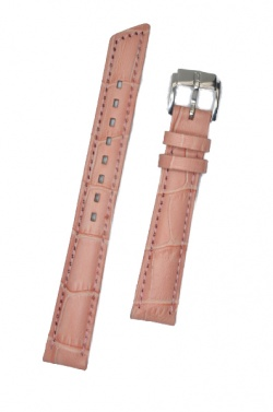 Hirsch 'Princess' Rosa Pink' Leather Strap, 12mm - 02628122-2-12