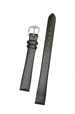 Hirsch 'Dakota' Black Leather Strap, 14mm,M - 17800250-1-14