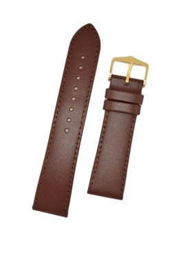 Hirsch 'Umbria ' M Brown Leather Strap, 18mm - 13700210-1-18