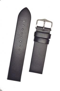 Hirsch 'Wild Calf' M 12mm Blue Leather Strap  - 13600280-2-12
