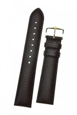 Hirsch 'Rainbow' L Brown Leather Strap, 18mm - 12322610-1-18