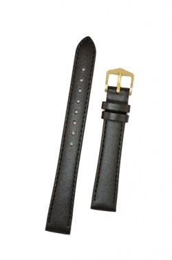 Hirsch 'Umbria ' M Black Leather Strap, 14mm - 13700250-1-14