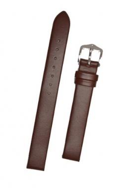 Hirsch 'Wild Calf' M 14mm Brown Leather Strap  - 13600210-2-14