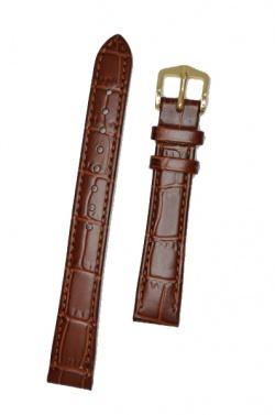 Hirsch 'LouisianaLook' M Golden Brown Leather Strap, 12mm - 03427170-1-12