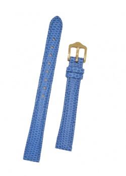 Hirsch 'Rainbow' M Royal Blue Leather Strap, 14mm - 12302685-1-14