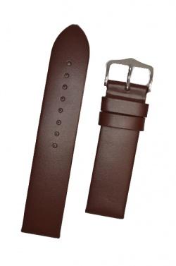 Hirsch 'Wild Calf' M 18mm Brown Leather Strap  - 13600210-2-18