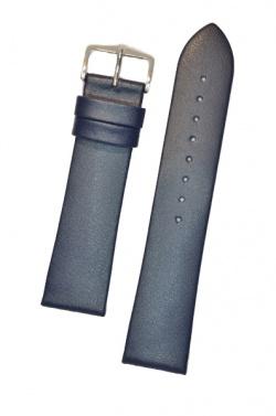 Hirsch 'Diamond calf'' Blue Leather Strap,L, 20mm - 14120280-1-20