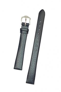 Hirsch 'Dakota' 12mm Blue Leather Strap,M  - 17800280-2-12