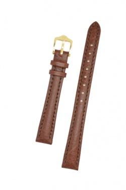 Hirsch 'Highland' M Brown, leather watch strap 12mm - 04302110-1-12