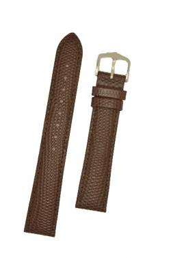 Hirsch 'Rainbow' M Brown Leather Strap, 12mm - 12302610-2-12