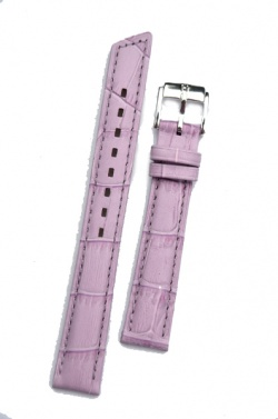 Hirsch 'Princess' Lilac Leather Strap, 16mm - 02628184-2-16