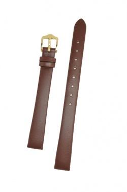Hirsch 'Italocalf' Brown ,M, Leather Strap, 13mm - 17802010-1-13