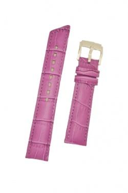 Hirsch 'Princess' Fuchsia Leather Strap, 20mm - 02628187-2-20