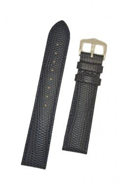 Hirsch 'Rainbow' M Blue Leather Strap, 18mm - 12302680-2-18