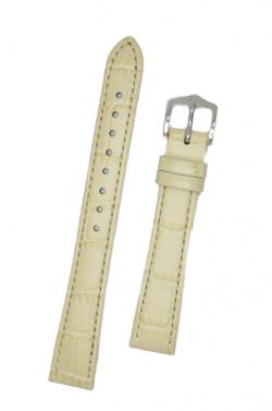 Hirsch 'LouisianaLook' M Beige Leather Strap, 14mm - 03427192-2-14