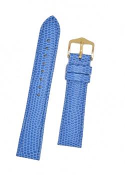 Hirsch 'Rainbow' M Royal Blue Leather Strap, 18mm - 12302685-1-18