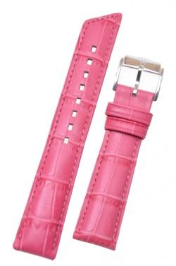 Hirsch 'Princess' Pink Leather Strap, 18mm - 02628125-2-18