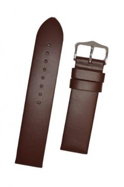 Hirsch 'Wild Calf' M 20mm Brown Leather Strap  - 13600210-2-20