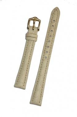 Hirsch 'Aristocrat' 14mm Beige Leather Strap  - 03828190-1-14