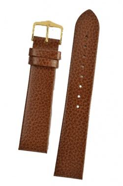 Hirsch 'Dakota' Golden Brown, leather watch strap,L, 22mm - 17820270-2-22