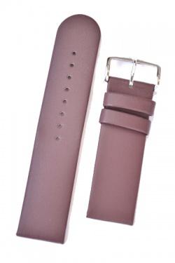Hirsch 'Scandic' Taupe, leather watch strap 20mm - 17852012-2-20
