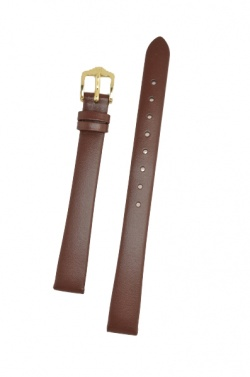 Hirsch 'Italocalf' Brown ,M, Leather Strap, 14mm - 17802010-1-14