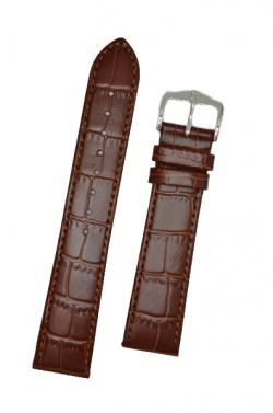 Hirsch 'LouisianaLook' Golden Brown Leather Strap, 20mm - 03427070-2-20