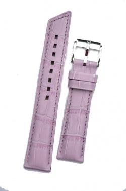 Hirsch 'Princess' Lilac Leather Strap, 20mm - 02628184-2-20
