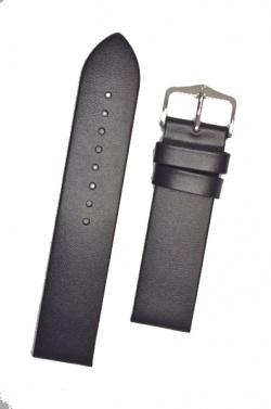 Hirsch 'Wild Calf' M 20mm Blue Leather Strap  - 13600280-2-20
