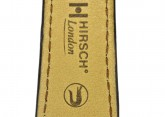 Hirsch 'London' L Brown Leather Strap, 21mm