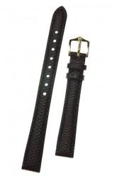 Hirsch 'Rainbow' Brown Leather Strap, 14mm