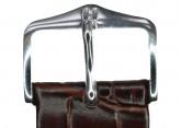 Hirsch 'LouisianaLook' M Brown Leather Strap, 20mm