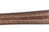 Hirsch 'Camelgrain' 10mm Brown Leather Strap