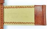 Hirsch 'Ascot' 19mm Golden Brown Leather Strap