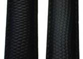 Hirsch 'Rainbow' L Black Leather Strap, 17mm