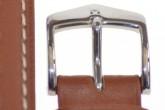 Hirsch 'Heavy Calf' 20mm  Golden Brown Leather Strap