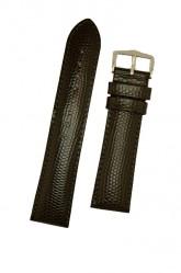 Hirsch 'Rainbow' L Black Leather Strap, 14mm