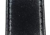 Hirsch 'Osiris' L Black Leather Strap, 17mm